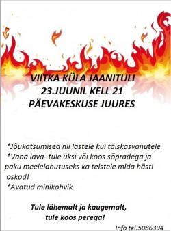 2017 jaanituliViitkal