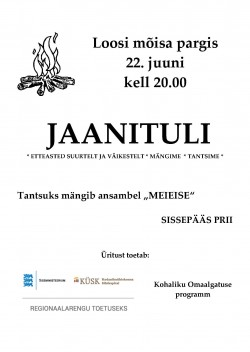 2015 Jaanituli Loosis