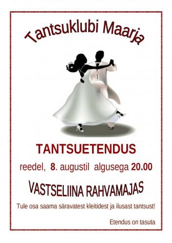 2014 Tantsuklubi Maarja