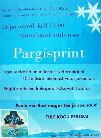 2016 pargisprint