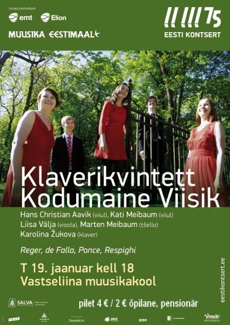 2016 Klaverikvintett Vastseliina
