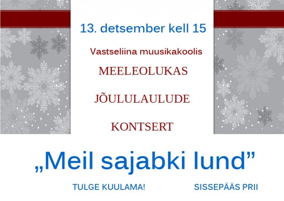 2015 LAULUKONTSERT